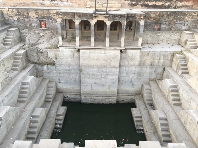The Step Well in Deogarh