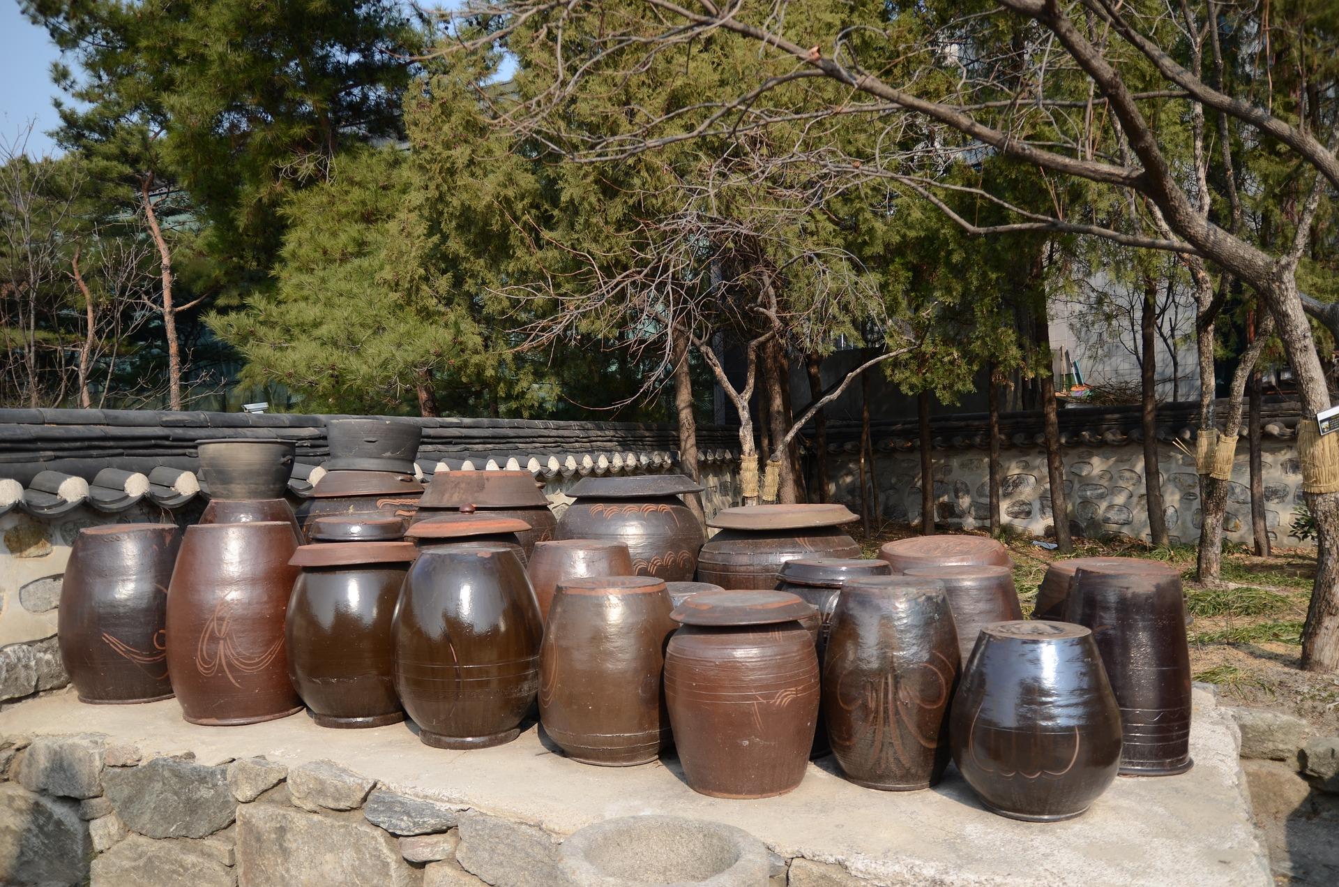 Kim Chi pots at Gyeongbok Palace
