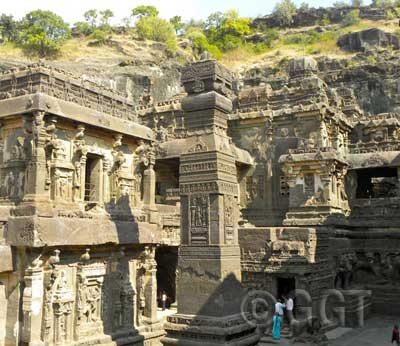 Ellora Caves, Aurangabad, India (photo by Geringer Global Travel, India tour operator).