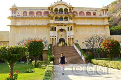 Samode Palace, Samode, Rajasthan